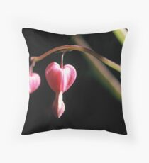 Dicentra Spectabilis Throw Pillow