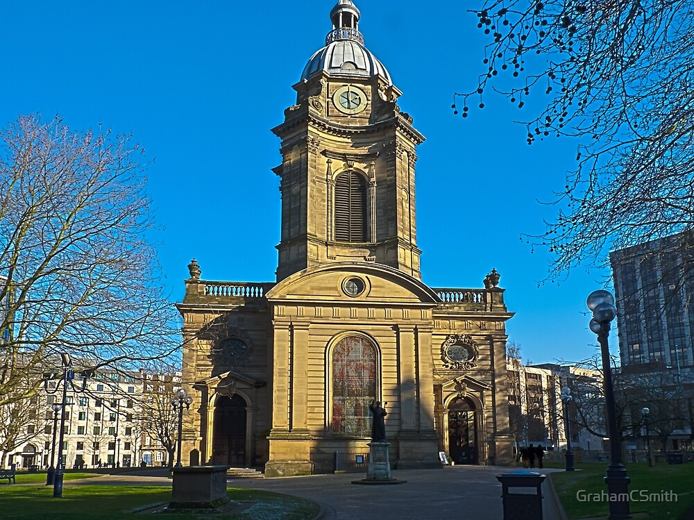 St Philips, Birmingham Cathedral, England, UK by GrahamCSmith