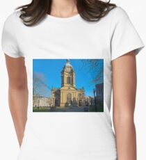 St Philips, Birmingham Cathedral, England, UK Women's Fitted T-Shirt