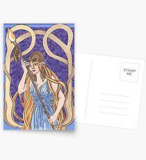 Owl Eyed Athena Postcards