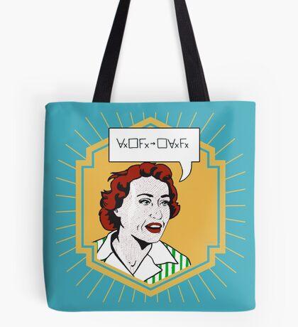 Ruth Barcan Marcus - Barcan Formula Tote Bag