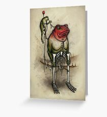 Stiltfrog Greeting Card