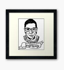 Ruth Bader Ginsburg - Höchste Gerahmtes Wandbild