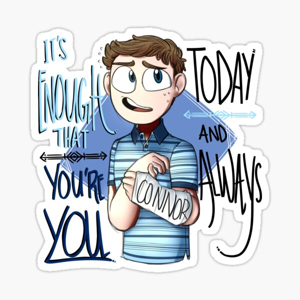 Dear Evan Hansen-You're you Sticker
