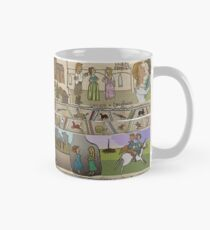 The Gabeaux Tapestry - second half of the Outlander narrative panels 21 to 24 Mug