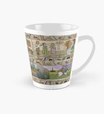 The Gabeaux Tapestry - second half of the Outlander narrative panels 21 to 24 Tall Mug