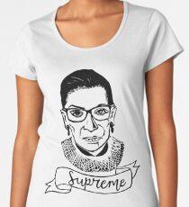 Ruth Bader Ginsburg - Supreme Women's Premium T-Shirt