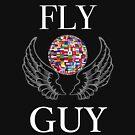 Reise-Shirt, Fly Guy Globetrotter, Jungs Reise, Urlaub T-shirt von Floetic-Vibes