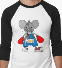 Mice Mike Mouse Boxer Men's Baseball ¾ T-Shirt