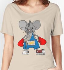 Mice Mike Mouse Boxer Women's Relaxed Fit T-Shirt