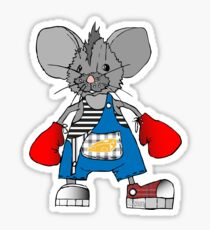 Mice Mike Mouse Boxer Sticker