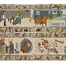 The Gabeaux Tapestry - the Outlander story told as a narrative, panels 29 to 32 by jennyjeffries