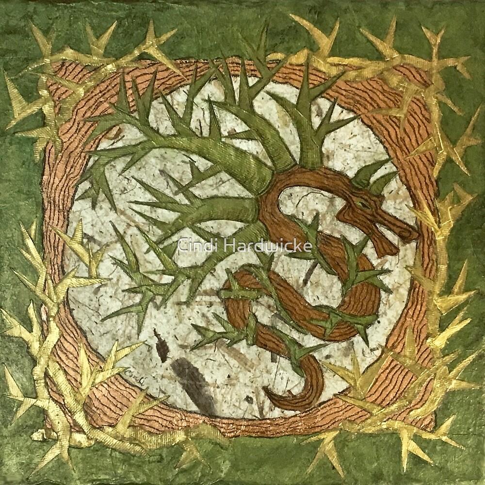 Thorny Devil Tree Spirit, Celtic Spirit, Druid Magick by Cindi Hardwicke