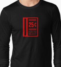 Insert Coin To Play Arcade Video Game Long Sleeve T-Shirt