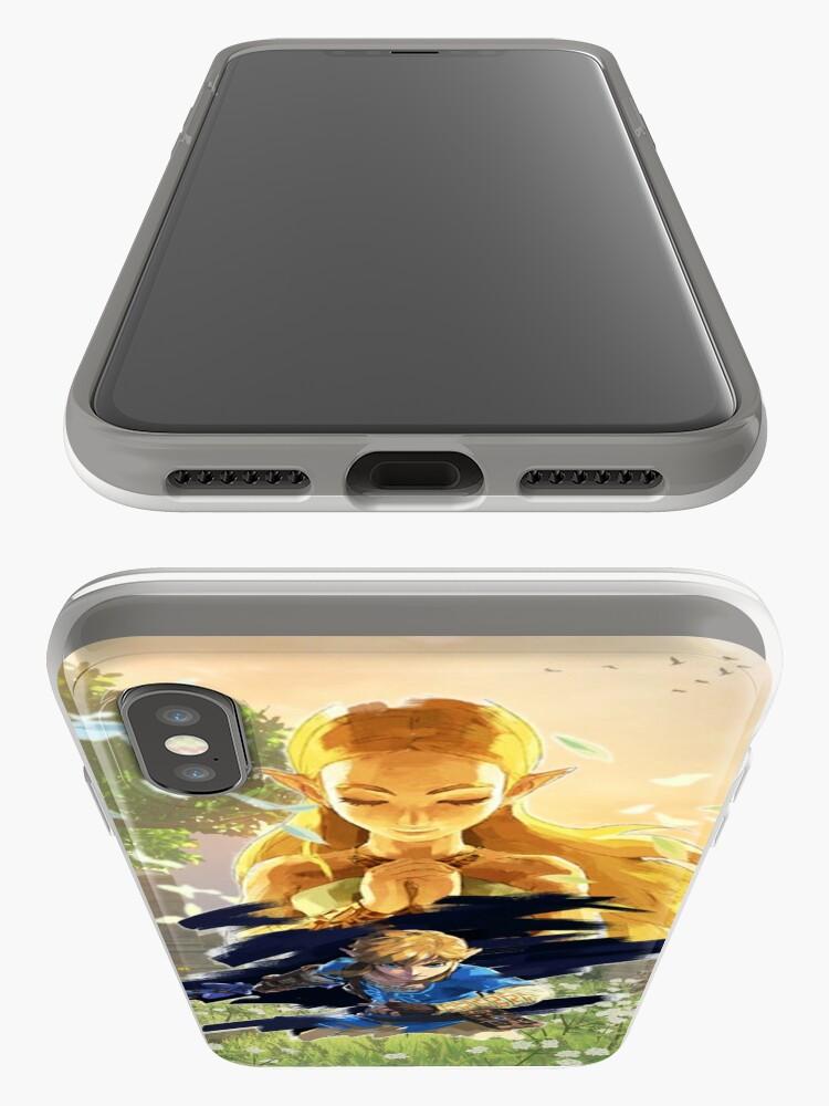 Alternative Ansicht von Die Legende von Zelda: Atem der Wildnis iPhone-Hülle & Cover