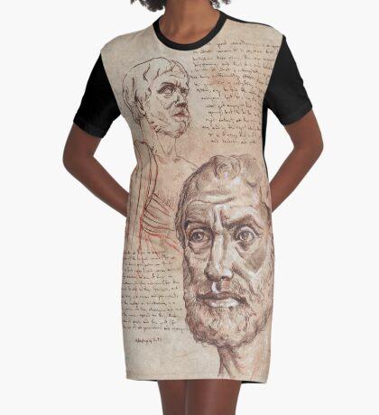 Aristotle Graphic T-Shirt Dress