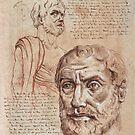 Philosopher Portraits Series II by Renee Bolinger