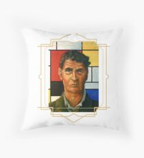 Ludwig Wittgenstein Throw Pillow