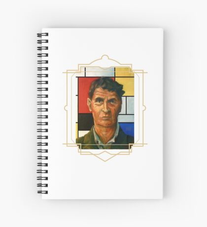 Ludwig Wittgenstein Spiral Notebook