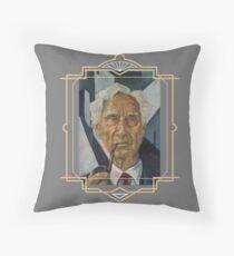 Bertrand Russell Throw Pillow