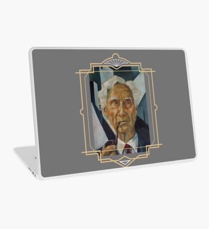 Bertrand Russell Laptop Skin