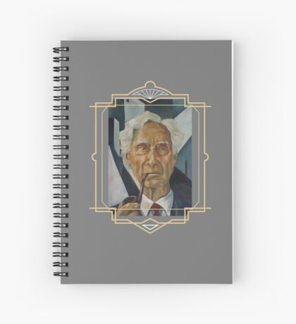 Bertrand Russell Spiral Notebook