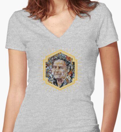 Elizabeth Anscombe Women's Fitted V-Neck T-Shirt