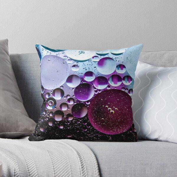 Multiverse Deep Purple Throw Pillow