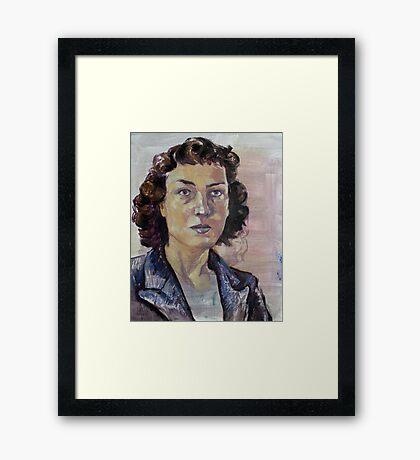 Phillipa Foot Framed Print