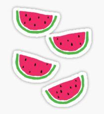 Eine kleine Wassermelone Sticker