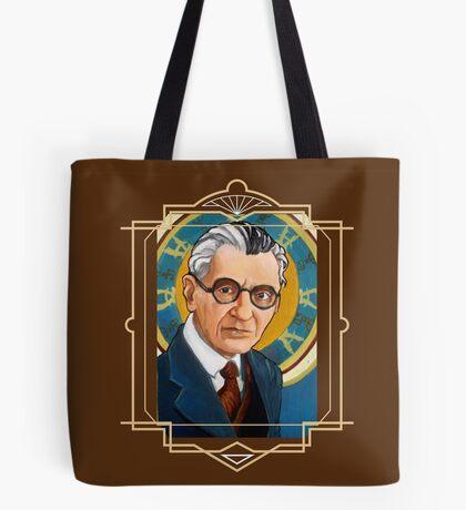 Kurt Gödel Tote Bag