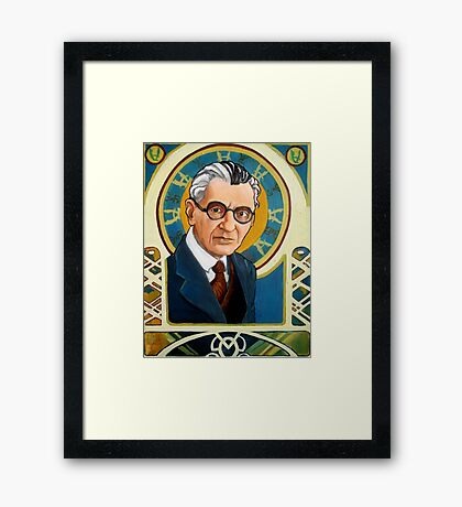Kurt Gödel Framed Print