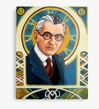 Kurt Gödel Metal Print