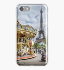 Parisian Carousel iPhone Case/Skin