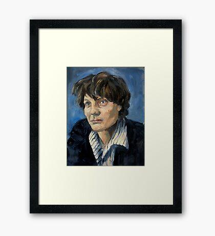 Iris Murdoch Framed Print