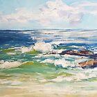 Bartletts Beach, morning by Terri Maddock