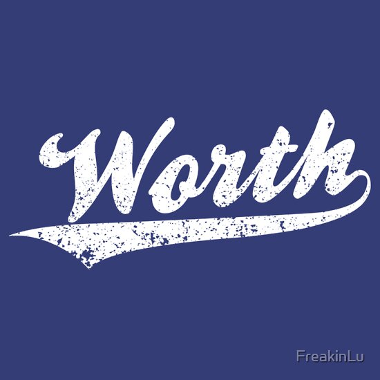 TShirtGifter presents: Worth | Unisex T-Shirt