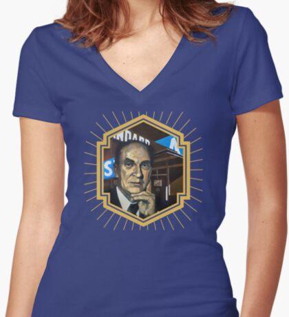 PF Strawson Women's Fitted V-Neck T-Shirt