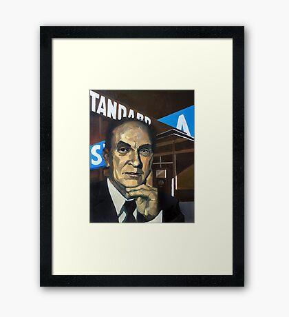 PF Strawson Framed Print