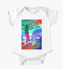 If A Tree Falls In Sicily Color 3 One Piece - Short Sleeve