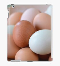 araucana eggs iPad Case/Skin