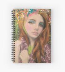 Lana Del Rey Star Celebrity Fantasy Art Spiral Notebook