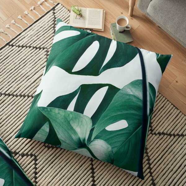 Monstera #redbubble #artprints Floor Pillow