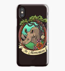 Save the Rhinos  iPhone Case/Skin