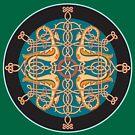 Ornamental t-shirt by Dmitry Rostovtsev