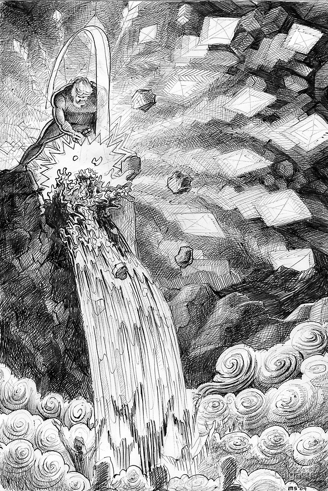 Smite the rock. by Calgacus