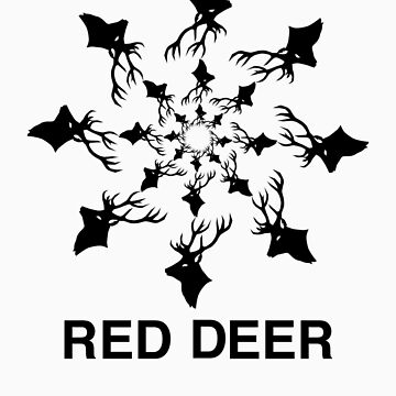 Red Deer by rosemarydarling