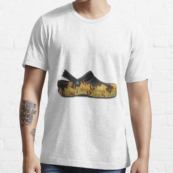 Flame Crocs Essential T-Shirt