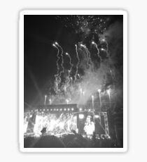 WWA Philly 8/13 Fireworks B&W Sticker