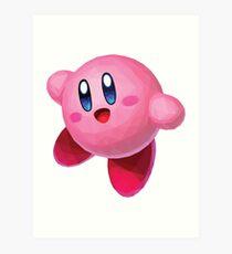 Kirby Art Print